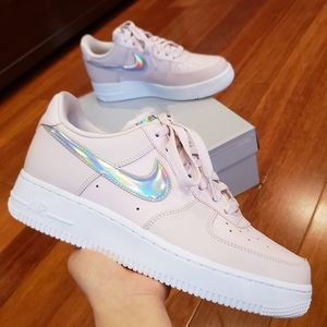 Nike Air Force 1 '07 Ess with Iridescent Swoosh